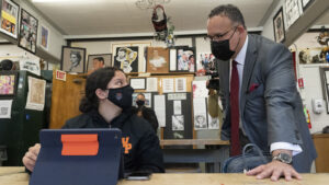 Schools Must Bring Students Back, With Masks, Education Secretary Says : NPR