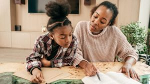 AS SCHOOLS REOPEN, MANY BLACK FAMILIES HAVE CHOSEN TO STICK WITH HOMESCHOOLING