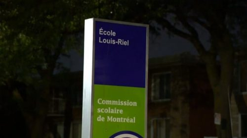 Education minister, premier, teachers condemn anti-vaccine protesters at Montreal school